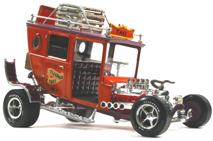 tijuana taxi 1/24 Taxi14